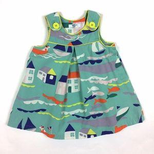 Baby Boden 6-12 months Fishermen Boat Jumper Dress
